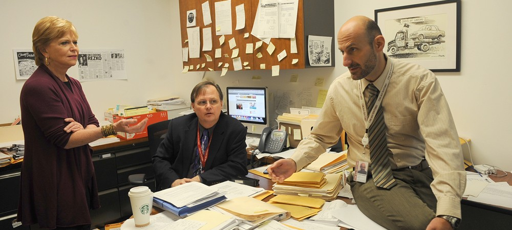 Reporters Carol Marin, Tim Novak and Chris Fusco.  |  Sun-Times Media
