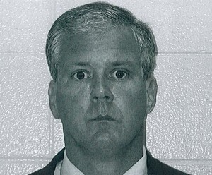 Chicago Police Lt. Denis P. Walsh, booking photo from Kalamazoo Township Police