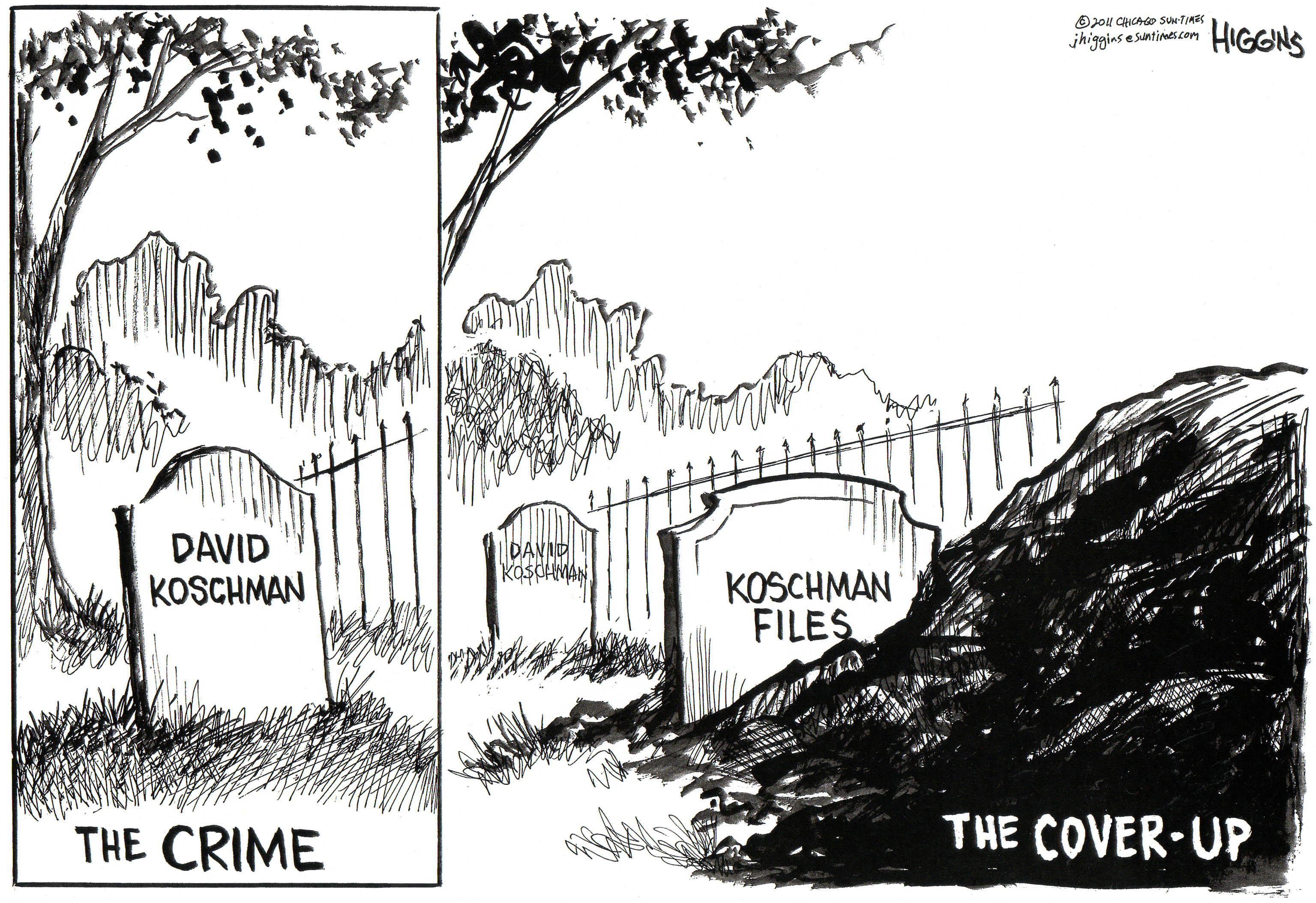 Jack Higgins cartoon