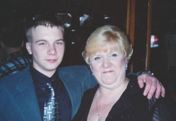 David Koschman with his mother Nanci Koschman. | Provided photo
