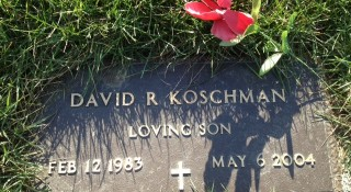David Koschman's grave at Memorial Gardens Cemetery in Arlington Heights.  |  Sun-Times Media