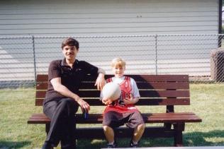 David Koschman and his late father, Robert Koschman