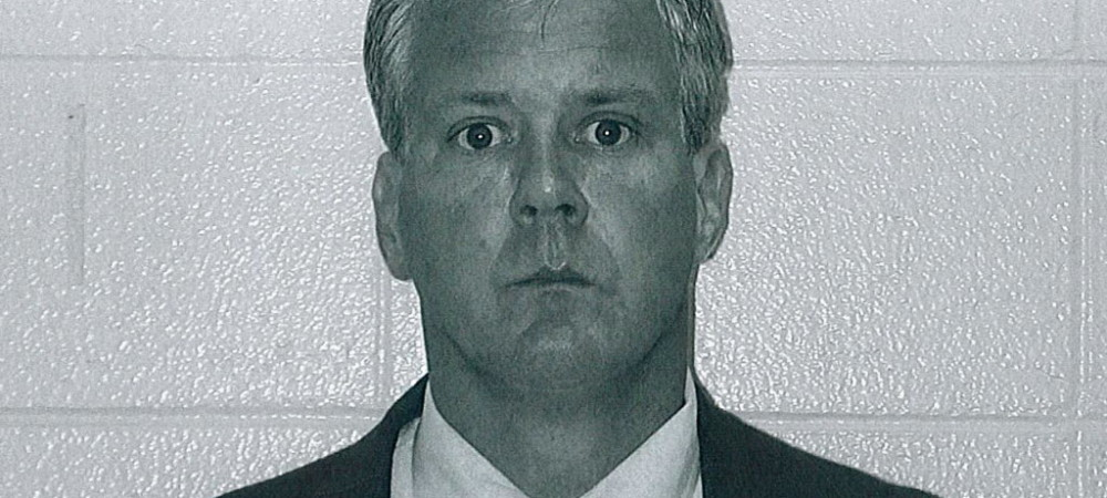 Mug shot of Lt. Denis P. Walsh following his arrest in August 2004 in Michigan on a felony charge of criminal sexual conduct. Kalamazoo Township police